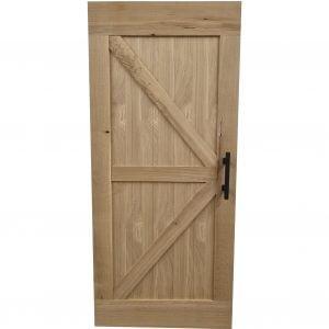 Loftdeur van Eiken 95x215 cm SD026