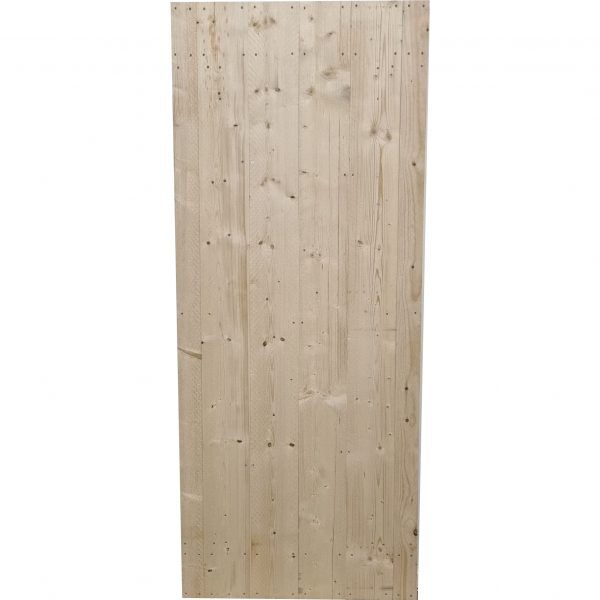 Loftdeur onbehandeld steigerhout 90x220 cm SD036