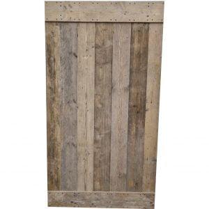 Loftdeur gebruikt steigerhout 120x220 cm SD038