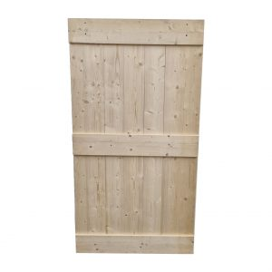 Loftdeur onbehandeld steigerhout 116x220 cm SD039