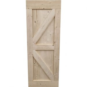 Loftdeur onbehandeld steigerhout 85x230 cm SD040