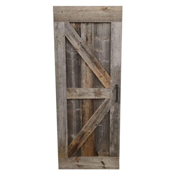Loftdeur barnwood 91x231,5 cm SD041