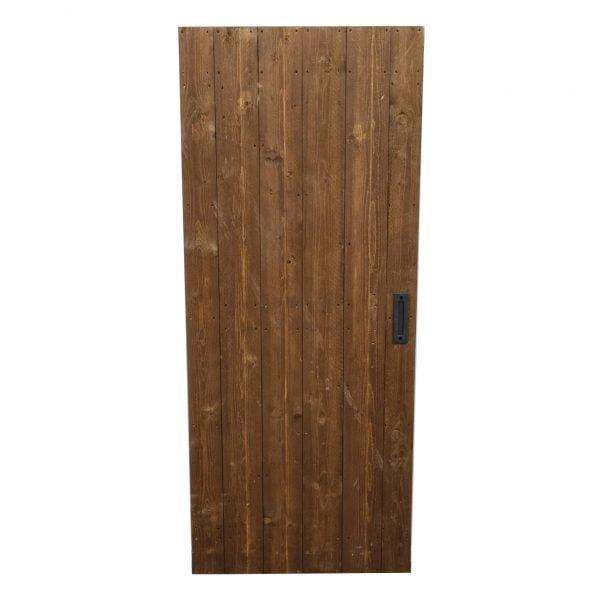 Loftdeur Steigerhout Vintage Brown 100x240 cm SD043