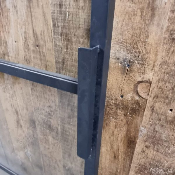 Loftdeur staal 4 vaks 98x236 cm