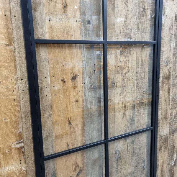Loftdeur staal 6 vaks 100x215 cm